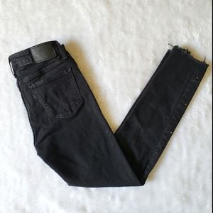 Levi's 711 Skinny Glitter Black Jeans Women's 27